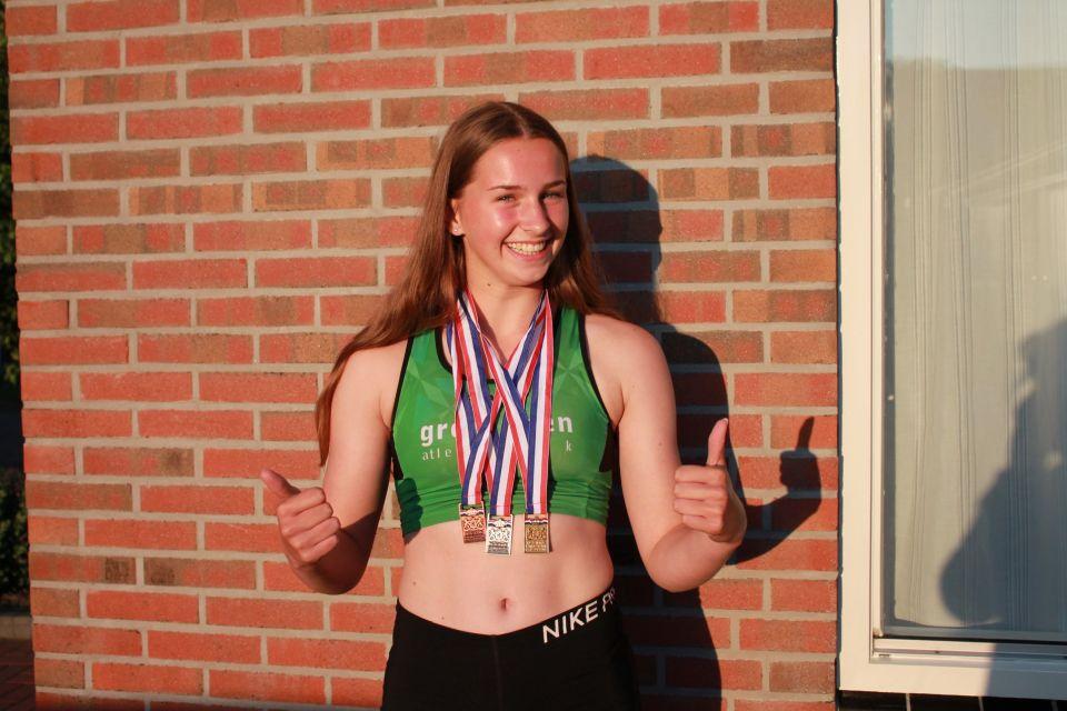 NKJ dag 3: Danara Stoppels Nederlands kampioene