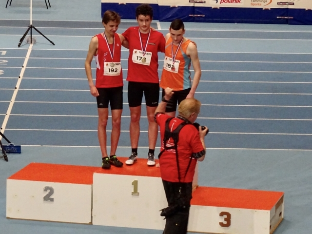 Top Nationaal CD Indoor met GOUD voor Nando Kramer