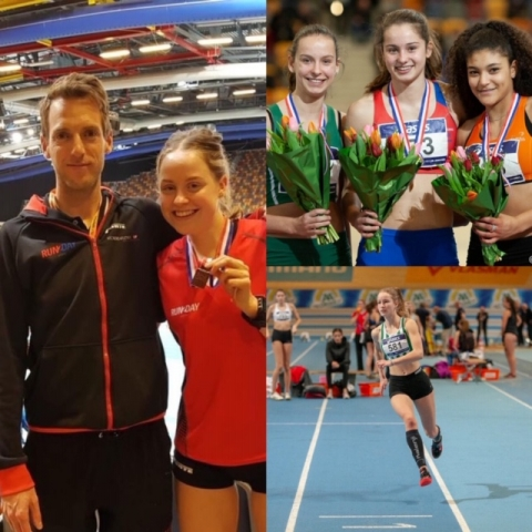 Asics NK Indoor 2019 A- B Junioren - Apeldoorn (9-10 feb-2019)